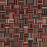 Nahtlose Weihnachtsfarbgerade vertikale und horizontale variable Breiten-Streifen Stockfoto