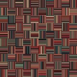 Nahtlose Weihnachtsfarbgerade vertikale und horizontale variable Breiten-Streifen Lizenzfreie Stockfotos