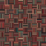 Nahtlose Weihnachtsfarbgerade vertikale und horizontale variable Breiten-Streifen Lizenzfreies Stockfoto