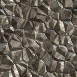 Nahtlose Zusammenfassung erzeugte Steinkristalloberfläche Stockbilder
