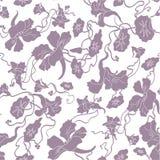Nahtloser abstrakter Blumenhintergrund Stockfotografie