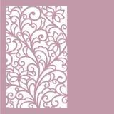 Nahtloser abstrakter Blumenhintergrund Lizenzfreies Stockbild