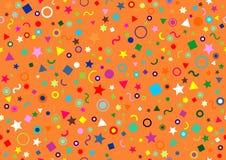 Nahtloser abstrakter festlicher Hintergrund Lizenzfreies Stockbild