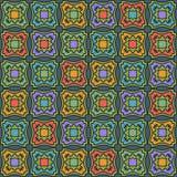 Nahtloser abstrakter geometrischer Hintergrund Lizenzfreies Stockbild