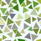 Nahtloser abstrakter geometrischer Hintergrund mit Form des Dreieckmusters Abdeckung, Schablone, Konzept u. Oberfläche lizenzfreie abbildung