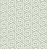 Nahtloser abstrakter geometrischer sechseckiger Mustervektor eps8 lizenzfreie abbildung