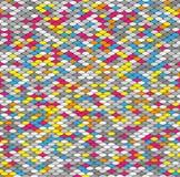 Nahtloser abstrakter Hintergrund Stockbilder