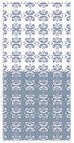 Nahtloser abstrakter Hintergrund der blauen Seeweinlese Lizenzfreie Stockfotos