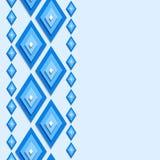 Nahtloser abstrakter Hintergrund mit Rauten Lizenzfreie Stockbilder