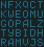 Nahtloser Alphabet-Hintergrund Stockfotos