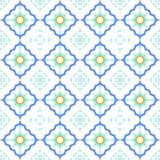 Nahtloser Arabeske-Fliese-Hintergrund stockfoto