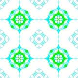 Nahtloser Arabeske-Muster-Hintergrund lizenzfreies stockbild