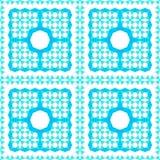 Nahtloser Arabeske-Muster-Hintergrund lizenzfreie stockfotografie