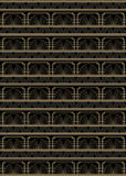 Nahtloser Art Deco Style Pattern Lizenzfreie Stockbilder