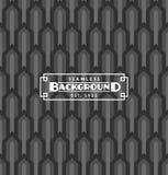 Nahtloser Art- DecoHintergrund Stockbild