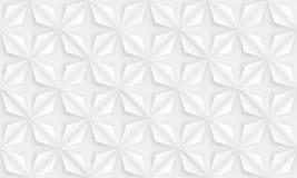 Nahtloser Auszug blüht Hintergrund Geometrisches Konzeptdesign Lizenzfreies Stockbild