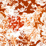 Nahtloser autmn Hintergrund Stockbild