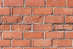 Nahtloser Backsteinmauerhintergrund Stockbilder