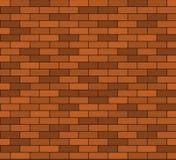 Nahtloser Backsteinmauerhintergrund Lizenzfreies Stockfoto
