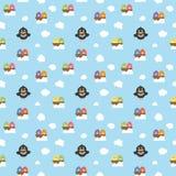 Nahtloser Birdy Pattern Stockfotografie
