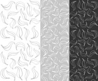 Nahtloser Blattmusterhintergrund vektor abbildung