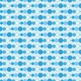 Nahtloser blauer Hintergrund Lizenzfreie Stockfotos