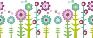Nahtloser Blume Patten lizenzfreie abbildung