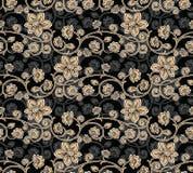 Nahtloser Blumen-Hintergrund Lizenzfreie Stockfotografie