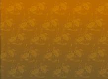 Nahtloser Blumenhintergrund lizenzfreie abbildung