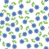 Nahtloser Blumenhintergrund Stockfotos