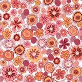 Nahtloser Blumenhintergrund Stockbilder