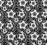Nahtloser Blumenhintergrund. Stockbild