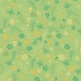 Nahtloser Blumenmusterhintergrund im Vektor Lizenzfreie Stockfotografie