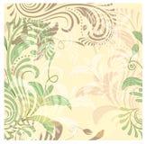 Nahtloser Blumenweinlesehintergrund Stockfoto