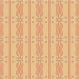 Nahtloser brauner abctract Hintergrund Lizenzfreie Stockbilder