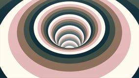Nahtloser bunter abstrakter Animationslochweg im Partikellichtelementhintergrund-Beschaffenheitsmuster Abstrakte Bewegung stock abbildung