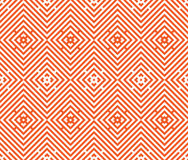 Nahtloser bunter stilvoller Hintergrund Wiederholen des geometrischen Musters mit Rautenelementen Lizenzfreie Stockfotografie