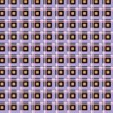 Nahtloser checkered Hintergrund Stockfotos