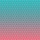 Nahtloser Dreieck-Muster-Hintergrund Lizenzfreie Stockfotos