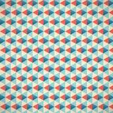 Nahtloser Dreieck-Muster-Hintergrund Stockfotografie