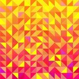 Nahtloser Dreieckhintergrund des Vektors Lizenzfreie Stockbilder
