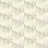 Nahtloser Dreieckhintergrund Vektor punktiert Beschaffenheit vektor abbildung