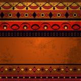 Nahtloser ethnischer Hintergrund Stockbild