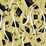 Nahtloser Farbbandstaffelunghintergrund Stockbilder