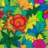 Graffity Blumen Stockbilder