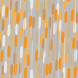 Nahtloser Frühling oder Sommerblumenmusterhintergrund mit Orange Lizenzfreie Stockbilder