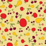 Nahtloser Fruchthintergrund Stockfoto