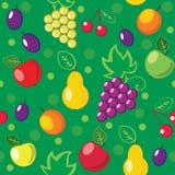 Nahtloser Fruchthintergrund Stockbilder