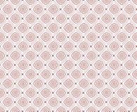Nahtloser geometrischer Blumenmusterhintergrund und modernes stilvolles Stockbilder