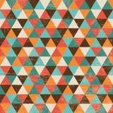 Nahtloser geometrischer Dreieck-Hintergrund Lizenzfreie Stockbilder